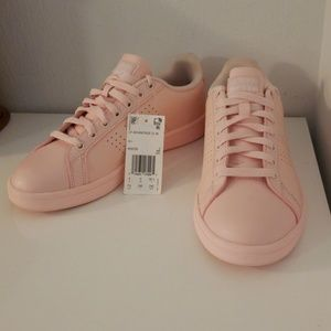 NWT Adidas Millenial Pink Sneakers Cloudfoam